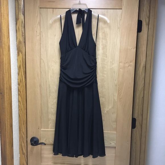 Dress Barn Dresses & Skirts - Little black halter dress lbd size 8